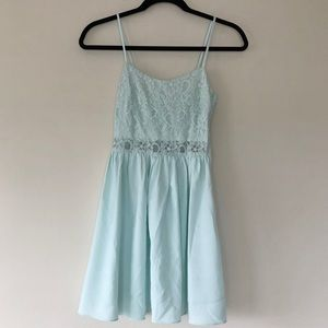 H&M Pale Turquoise Dress